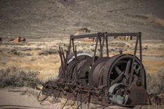 Rusted Machinery Royalty Free Stock Image