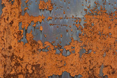 Rusted metal. Texture of old rusted metal, background Stock Photo