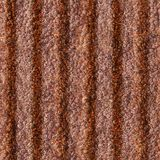Rusted Metal. Rusted Corrugated Metal Seamless Texture Tile from Photographic Original Royalty Free Stock Image