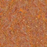 Rusted Metal. Seamless Texture Tile from Photographic Original Stock Image