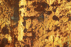 Rusted Metal Background Stock Image