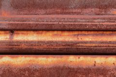 Rusted metal background Royalty Free Stock Image