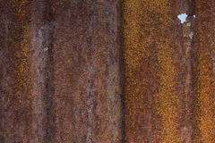 Rusted Metal Background. Old metal iron rust texture Royalty Free Stock Images