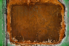 Rusted metal background Royalty Free Stock Photography