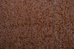 Rusted metal background and texture. Grunge old rusty scratched surface texture. Background - old metal surface. Abstract background and texture for designers Royalty Free Stock Photos