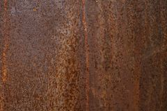 Rusted metal background and texture. Grunge old rusty scratched surface texture. Background - old metal surface. Abstract background and texture for designers Stock Image