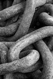 Rusted Metal Chains Stock Photos