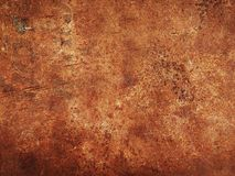 Rusted metal. Close up rusted metal background Royalty Free Stock Photos