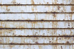 Rusted metal door Stock Photography