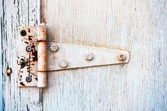 Rusted Metal Door Hinge Royalty Free Stock Photos