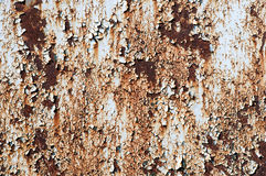 Rusted metal and flaky paint Stock Photography