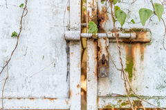 Rusted Metal Gate Royalty Free Stock Photo