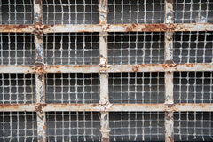 Rusted Metal Grate royalty free stock images