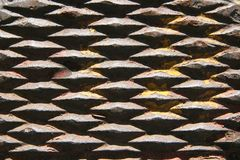Rusted Metal Iron. For Texture stock photography