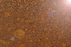 Rusted metal making abstract background Stock Photography