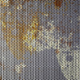 Rusted Metal Mesh Royalty Free Stock Photo
