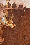 Rusted metal panel Royalty Free Stock Image