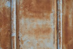Rusted metal Stock Image