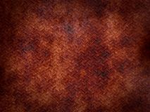 Rusted metal plate Stock Image