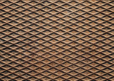 Rusted metal plate background texture Stock Photography