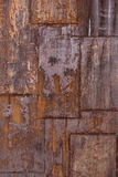Rusted metal plate stock photos