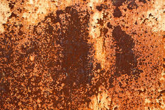 Rusted metal plates - grungy industrial construction background Stock Images