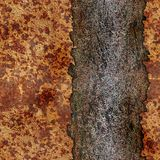 Rusted metal Royalty Free Stock Photos
