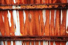 Rusted metal sheet Stock Image