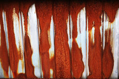 Rusted metal sheet Royalty Free Stock Images