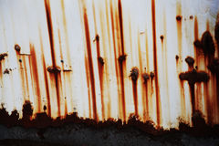 Rusted metal sheet Royalty Free Stock Photography