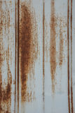 Rusted Metal Siding Vertical Royalty Free Stock Photo