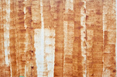 Rusted metal strips Royalty Free Stock Photo