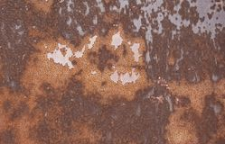 Rusted metal surface Royalty Free Stock Image