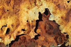 Rusted metal surface Stock Photos