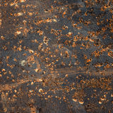 Rusted metal surface Royalty Free Stock Images