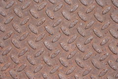 Rusted metal texture. Close up of rusted metal surface Stock Photos