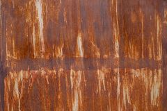 Rusted metal texture and background royalty free stock photos