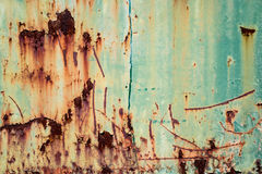 Rusted metal texture. And background Royalty Free Stock Image