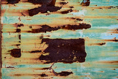 Rusted metal texture. And background Stock Images
