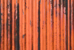 Rusted metal texture with border Royalty Free Stock Photography