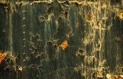 Rusted metal texture closeup photo Stock Image