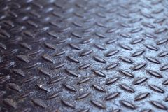 Rusted metal texture diamond plate Royalty Free Stock Photography