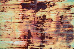 Rusted metal texture. And background Royalty Free Stock Photo