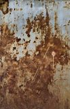 Rusted metal texture Stock Image