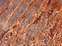 Rusted metal textured Stock Image
