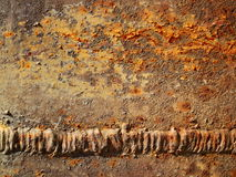 Rusted metal textured Royalty Free Stock Photo