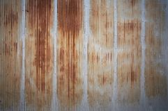 Rusted metal wall Stock Photography