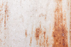 Rusted metal wall Royalty Free Stock Images