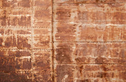 Rusted metal wall detailed texture Stock Image