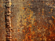 Rusted metal Royalty Free Stock Images